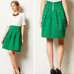 Anthropologie Skirts - Anthropologie Girls from Savoy Green Ponte Skirt